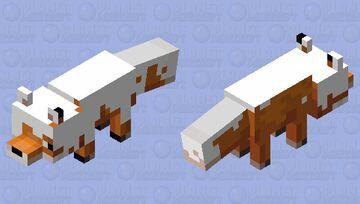 Creamy fox Minecraft Mob Skin