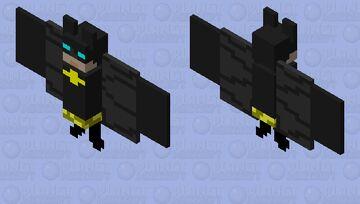 a real BAT man Minecraft Mob Skin