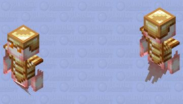 soul / totem or undying armor / vex / charging Minecraft Mob Skin