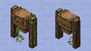 Wooden Golem Minecraft Mob Skin
