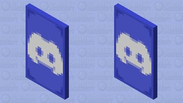 Discord 6th Birthday Cape & Elytra [Read Description] Minecraft Mob Skin