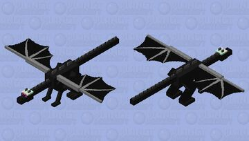 Nothing is safe Minecraft Mob Skin