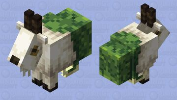 Capricorn | The Sacred Goat of the Seven Seas 🐐🐟 Minecraft Mob Skin