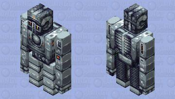 Steel golem    HD Minecraft Mob Skin