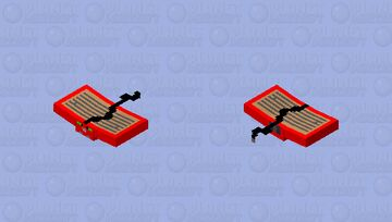 Flying book shop mouse Minecraft Mob Skin