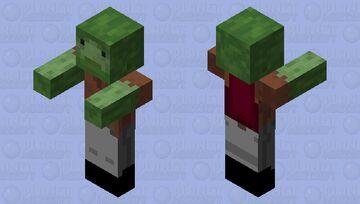 Zombie Notch Minecraft Mob Skin