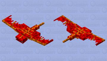 Baby Dragon Minecraft Mob Skin
