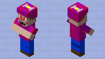 Nightmare Balloon Boy Minecraft Mob Skin