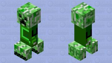 Creeper Dude Minecraft Mob Skin