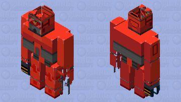 Tordbot but with tord inside - friday night funkin vs. tord (original tord and tordbot is form eddsworld) Minecraft Mob Skin