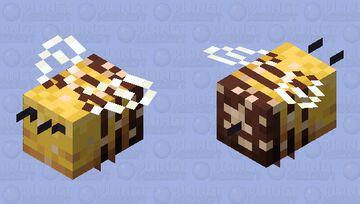 Buzzy Bees (Version 8 with Pollen) Minecraft Mob Skin