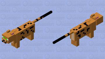 Egytian Mau Minecraft Mob Skin