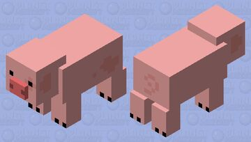 Waddles the pig Minecraft Mob Skin