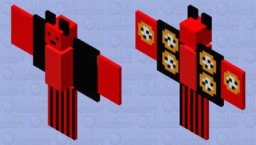 Alarmclock Style Bat Minecraft Mob Skin