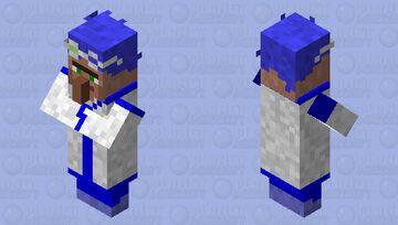 Scientist villager Minecraft Mob Skin