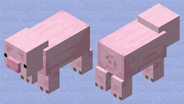Piggy Pig Minecraft Mob Skin