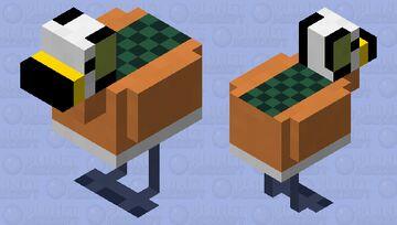 African Pygmy Goose Minecraft Mob Skin