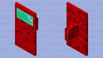 Among Us shield Minecraft Mob Skin