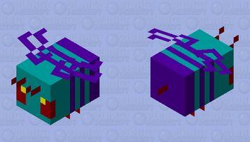 Warped Bee #2 Edition Minecraft Mob Skin