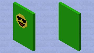 Cool Face Emoji Minecraft Mob Skin