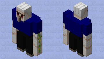 Student Iron Golem Minecraft Mob Skin