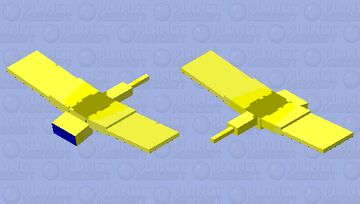 Flying amoung us :) kI belive I can fly) Minecraft Mob Skin