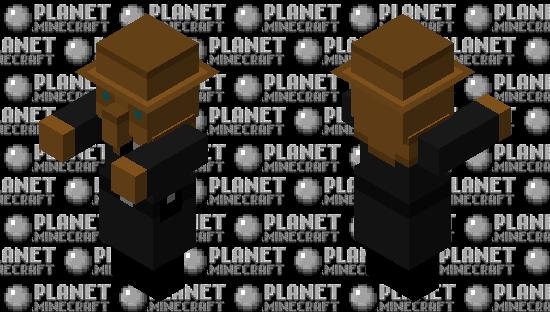 SCP-049-j Minecraft Skin