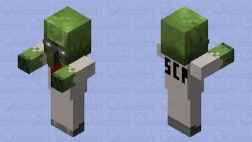 SCP-049-2 / SCP-008 (Scientist) Minecraft Mob Skin