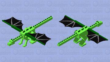 jungle ender dragon Minecraft Mob Skin