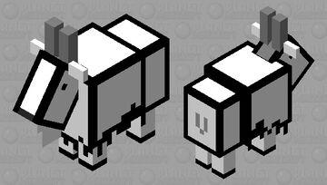 cartoon goat Minecraft Mob Skin
