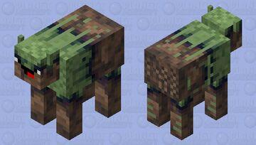New Noob Jungle Cow Skin Minecraft Mob Skin