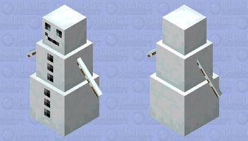 Better snow golem texture! Minecraft Mob Skin