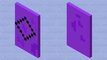 Diamond Shaped Cape Minecraft Mob Skin