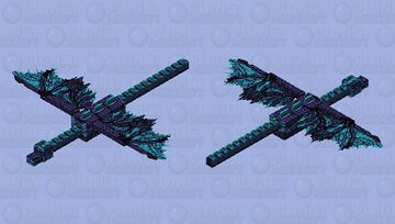 From End to the Icyend. Minecraft Mob Skin
