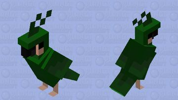swamp parrot Minecraft Mob Skin