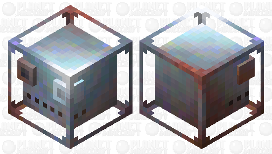 Metallic slime Minecraft Skin