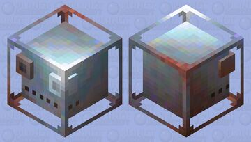 Metallic slime Minecraft Mob Skin