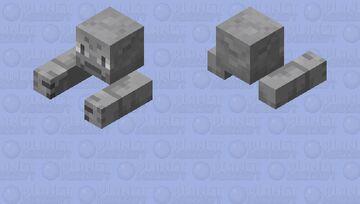 Geodude (zombie) Minecraft Mob Skin