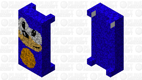 Sonic bed - epic Minecraft Skin
