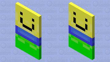 Noob Cape (Minecraft) Minecraft Mob Skin