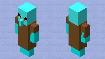 Bad Squidward Minecraft Mob Skin