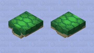 turtle hidden in its carapace Minecraft Mob Skin