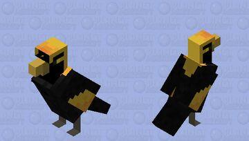 Regent Bowerbird (male) Minecraft Mob Skin