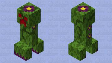 Tree leaves creeper Minecraft Mob Skin