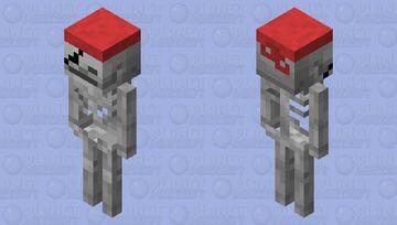 Pirate Boneless Minecraft Mob Skin