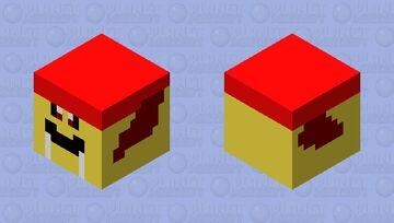 flying yellow walrus Minecraft Mob Skin