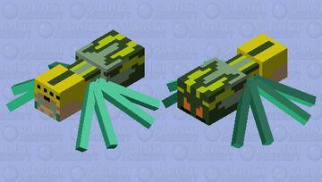 Orchard Spider Minecraft Mob Skin
