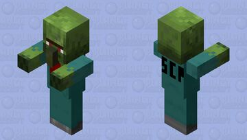 SCP-049-2 / SCP-008 (Janitor) Minecraft Mob Skin