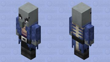 Illager phantom tamer / Remade Re-texturing Minecraft Mob Skin