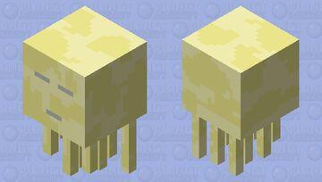 "Endstone Ghast (For ""Swamp Dimensions"") Minecraft Mob Skin"